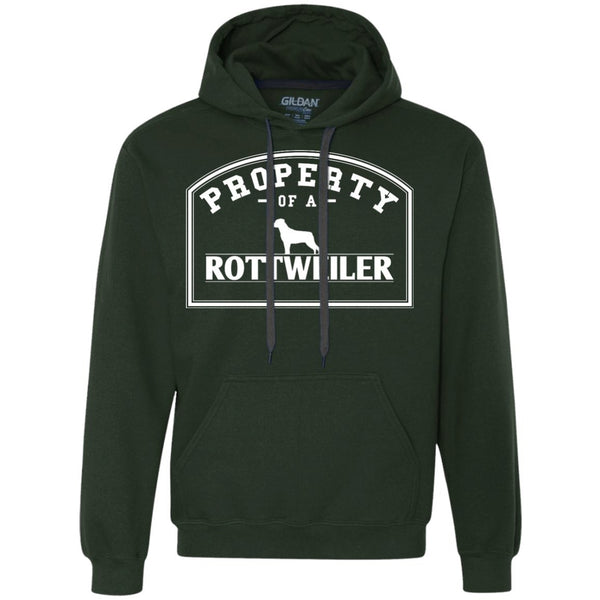 Rottweiler - Property Of A Rottweiler - Heavyweight Pullover Fleece Sweatshirt