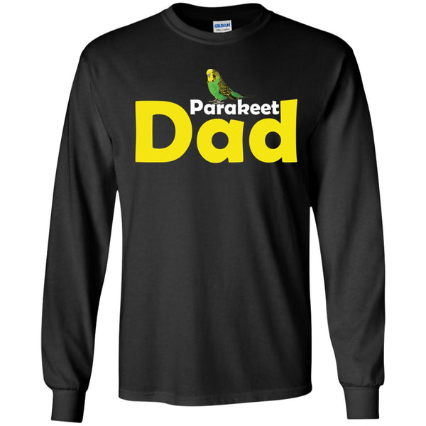 Parakeet dad  LS Ultra Cotton Tshirt