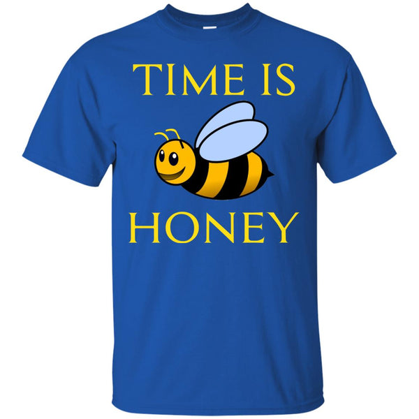 Funny Beekeeping Gift - Time is honey T-Shirt