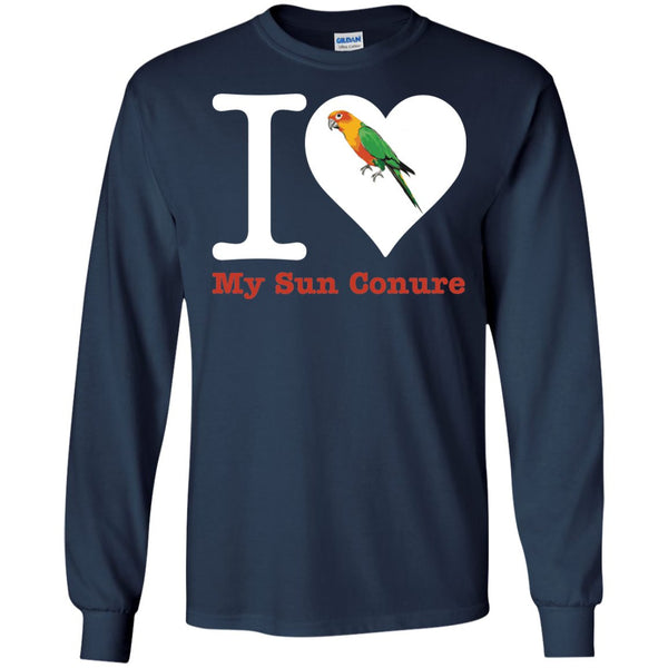 Sun Conure Shirt - Love My Sun Conure  LS Ultra Cotton Tshirt