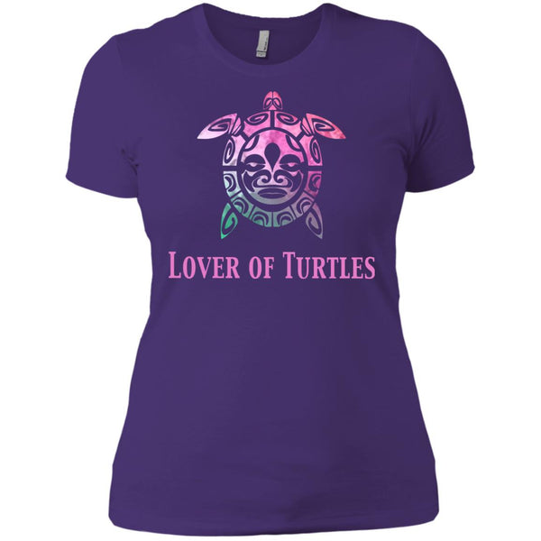 Beautiful Lover Of Turtles Gift Womens T-Shirt