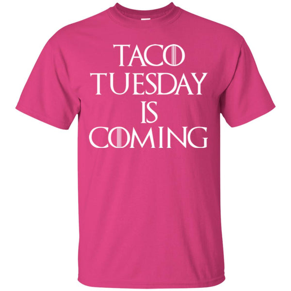 Funny Taco Tuesday Is Coming Shirt For Men T-Shirt