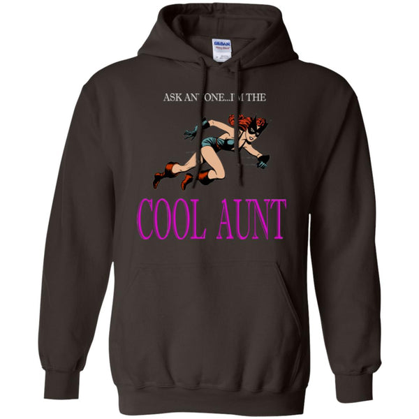 Cool Aunt Comic Lover Gift Hoodie