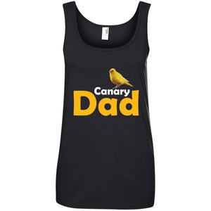 Canary Dad Gift Ladies Tank Top