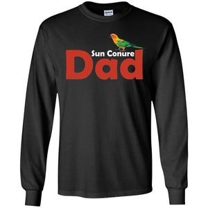 Sun Conure Dad - Awesome Sun Conure Lover Shirt  LS Ultra Cotton Tshirt