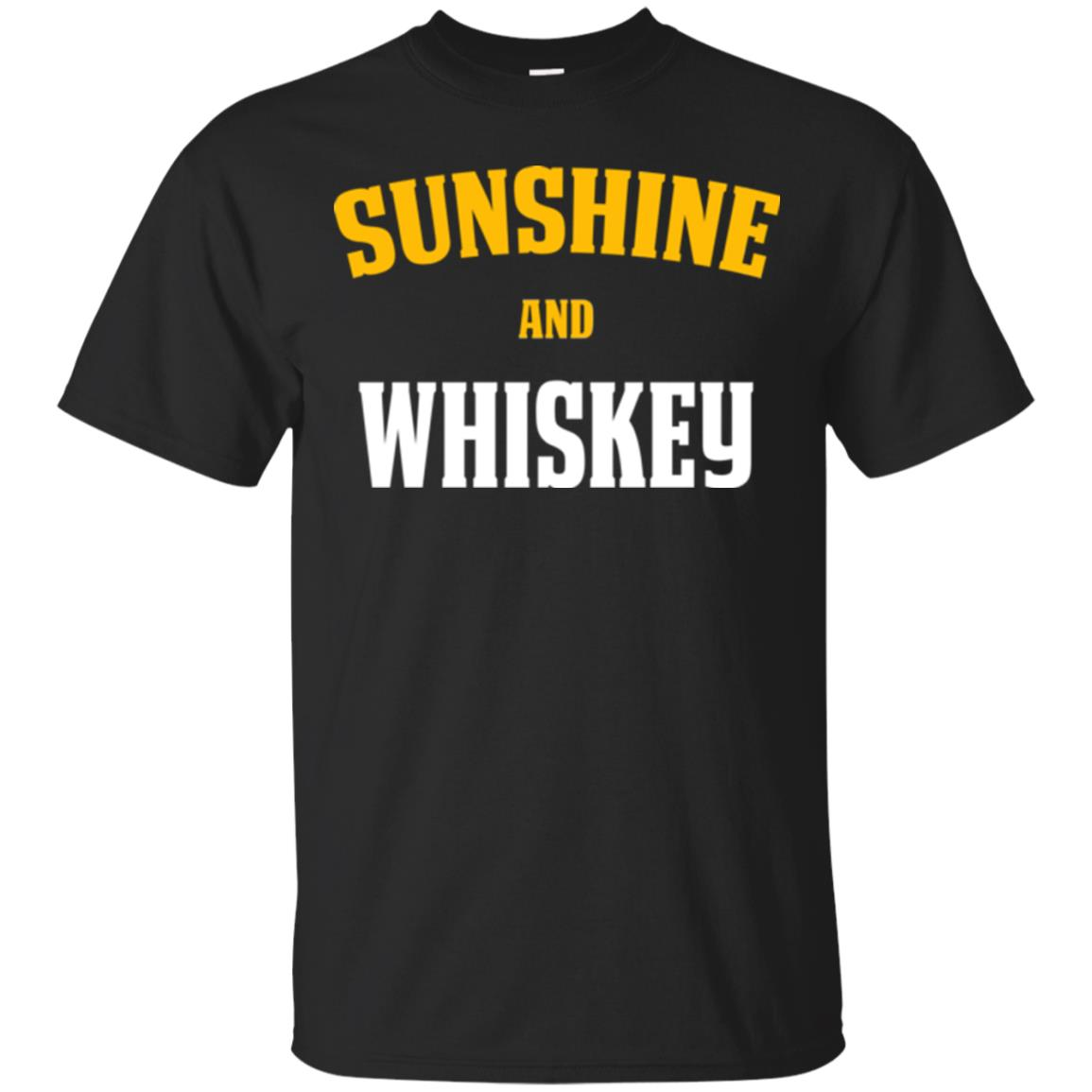 Funny Whiskey Lover Shirt Sunshine and Whiskey T-Shirt