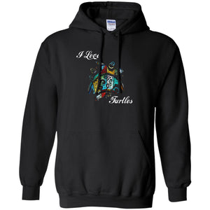 Turtle Art Gift - Love Turtels Hoodie