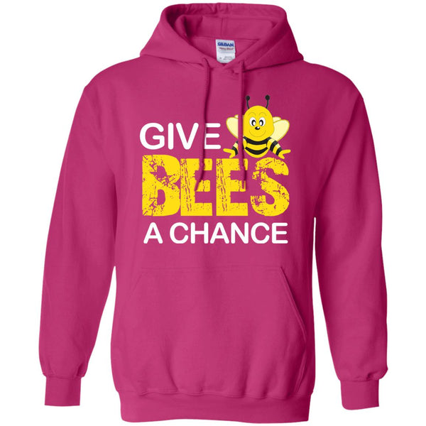 Beekeeper Gift - Give bees a chance Hoodie