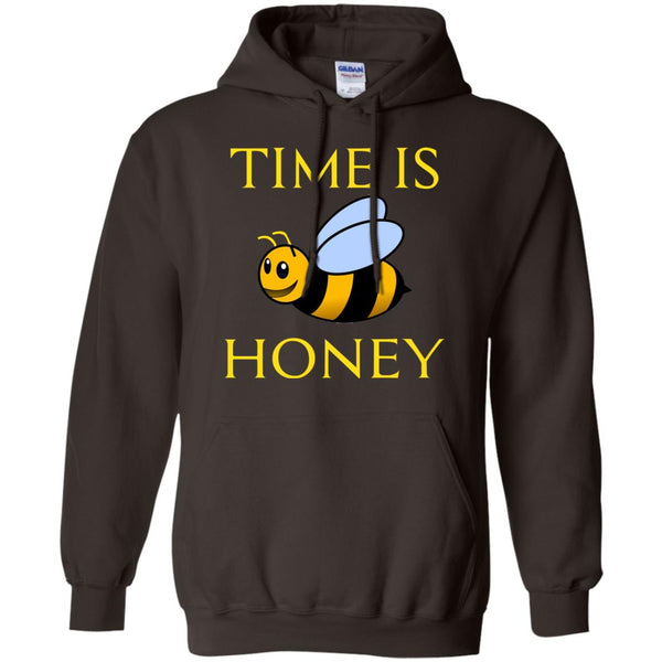 Funny Beekeeping Gift - Time is honey Hoodie
