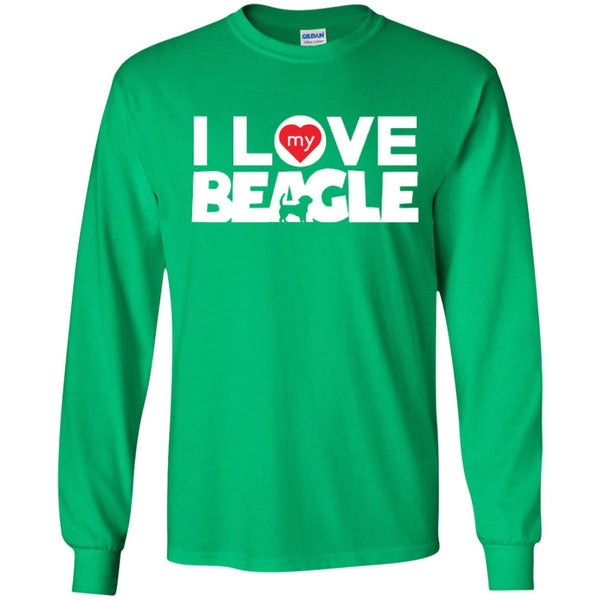 I Love My Beagle - LS Ultra Cotton Tshirt