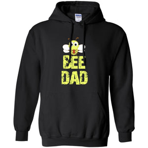 BEE DAD Funny Bee Lover Gift Hoodie