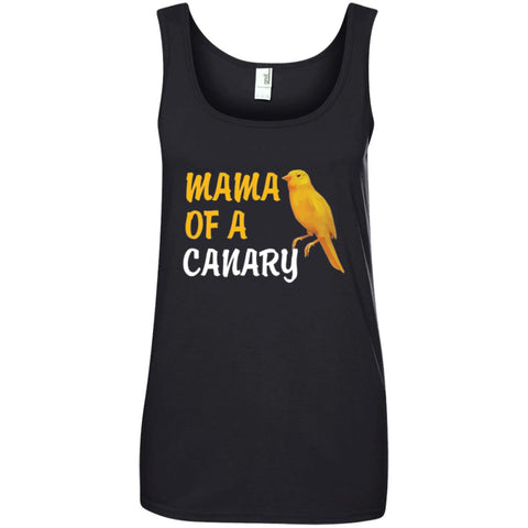 Mama Of A Canary Gift Shirt Ladies Tank Top