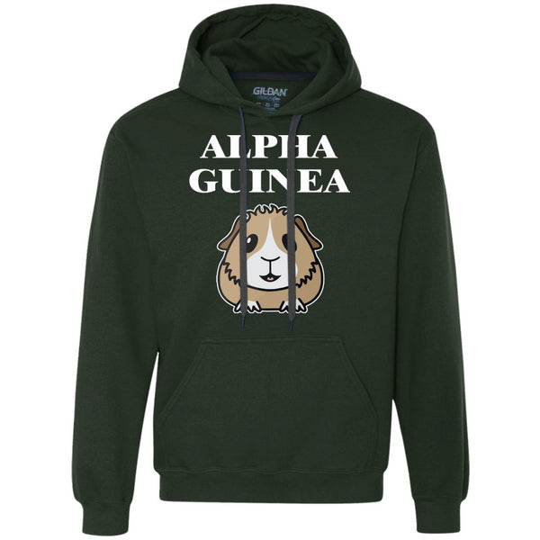 Alpha Guinea Pig  Heavyweight Pullover Fleece Sweatshirt