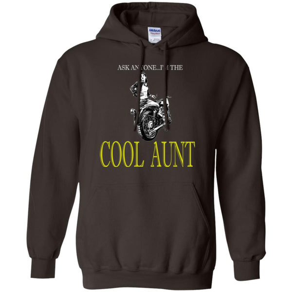 Cool Motorcycle Riding Aunt Hoodie