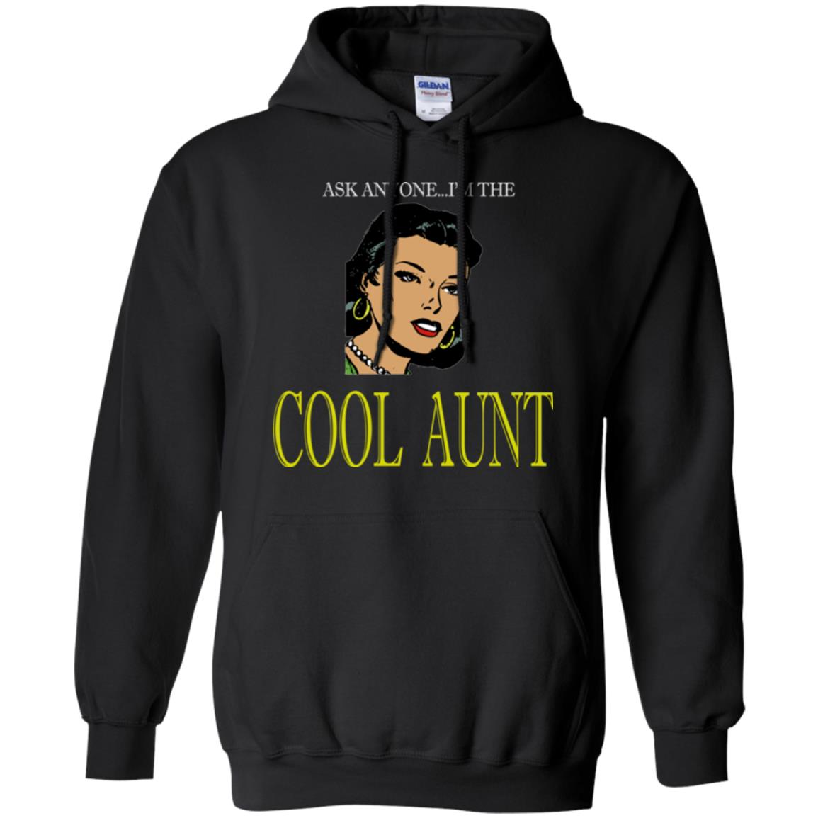 Funny Aunt Shirt The Cool Aunt Agian Hoodie