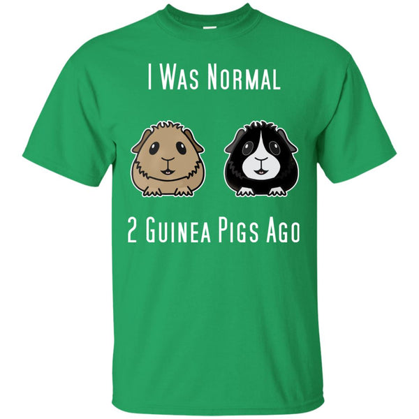 Brown and Black and White Guinea T-Shirt