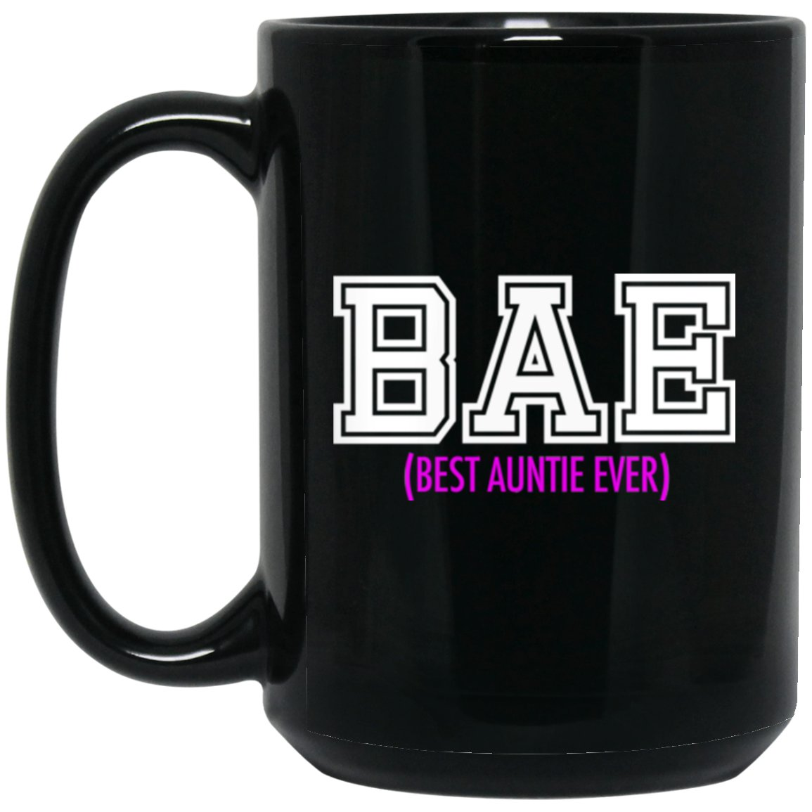 Nice Gift For An Aunt Coffee Mug Large Black Mug