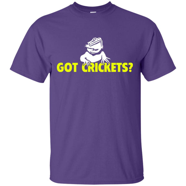 Bearded Dragon - Got Crickets? (Yellow) T-Shirt