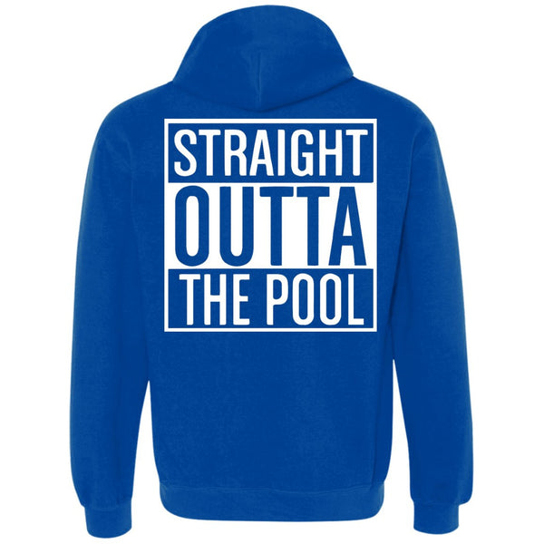 Funny Swimmers Straight Out Of The Pool - Heavyweight Pullover Fleece Sweatshirt