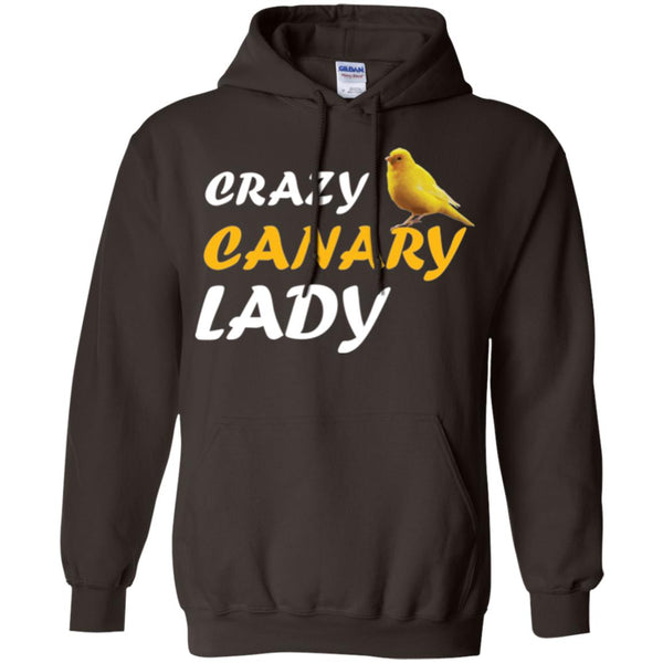 Crazy Canary Lady Hoodie