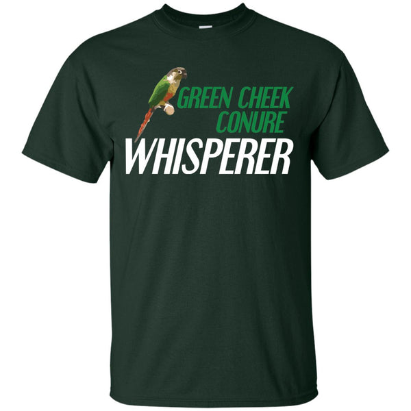 Green Cheek Conure Whisperer - Funny Shirt