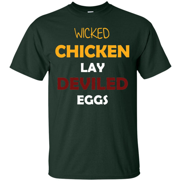 Funny Chicken Gift Shirt - Wicked Chickens
