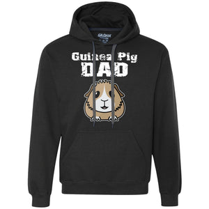 Guinea Pig Dad  Heavyweight Pullover Fleece Sweatshirt