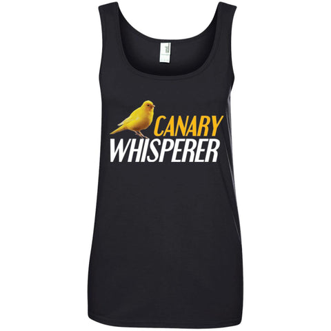 Canary Whisperer Ladies Tank Top