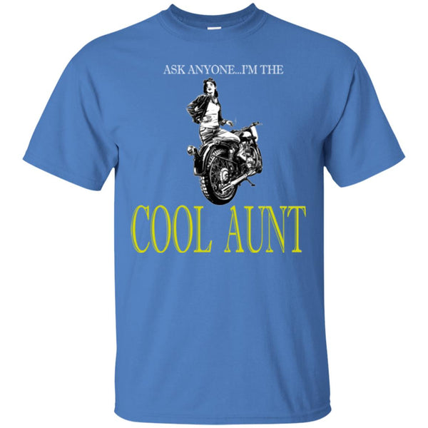 Cool Motorcycle Riding Aunt T-Shirt
