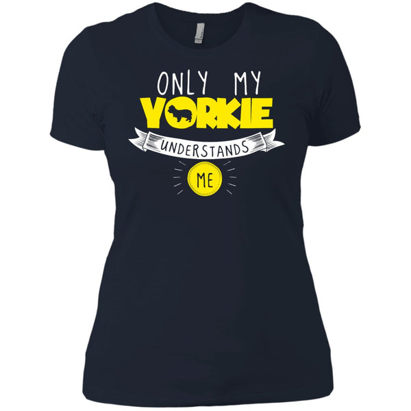 Yorkshire - Only My Yorkshire Understands Me - Next Level Ladies' Boyfriend Tee