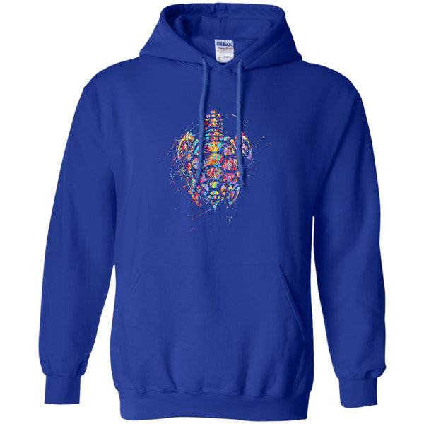 Beautiful Painted Turtle Gift Hoodie
