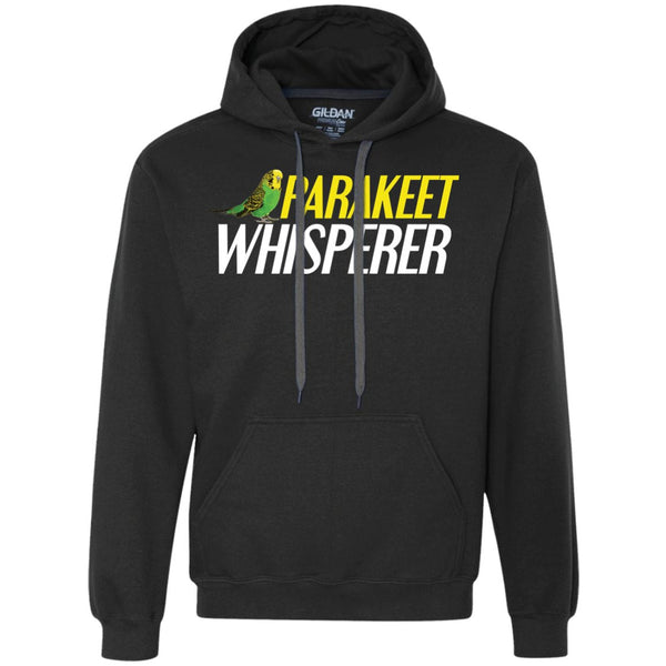 Parakeet whisperer  Heavyweight Pullover Fleece Sweatshirt
