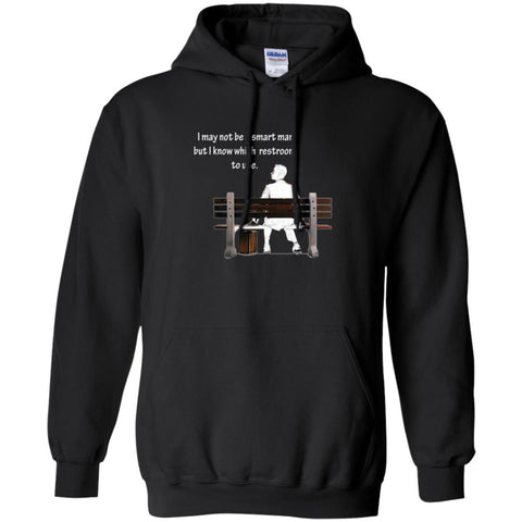 Funny Conservatice Shirt - I May Not Be Smart Hoodie