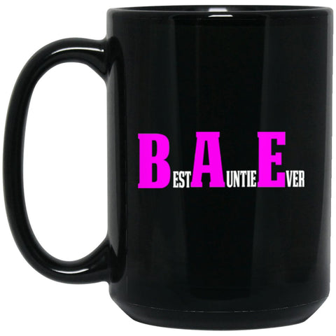Funny Aunt Coffee Mug BAE Large Black Mug