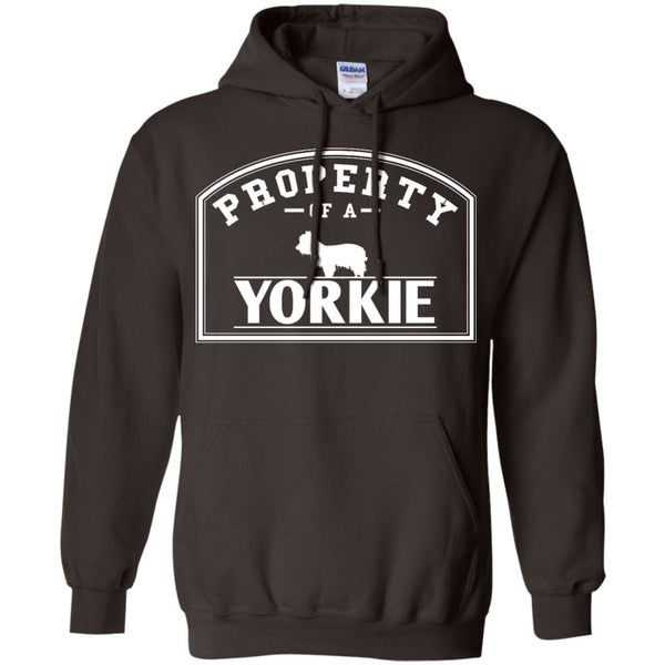 Yorkshire Terrier - Property Of A Yorkshire Terrier - Pullover Hoodie 8 oz
