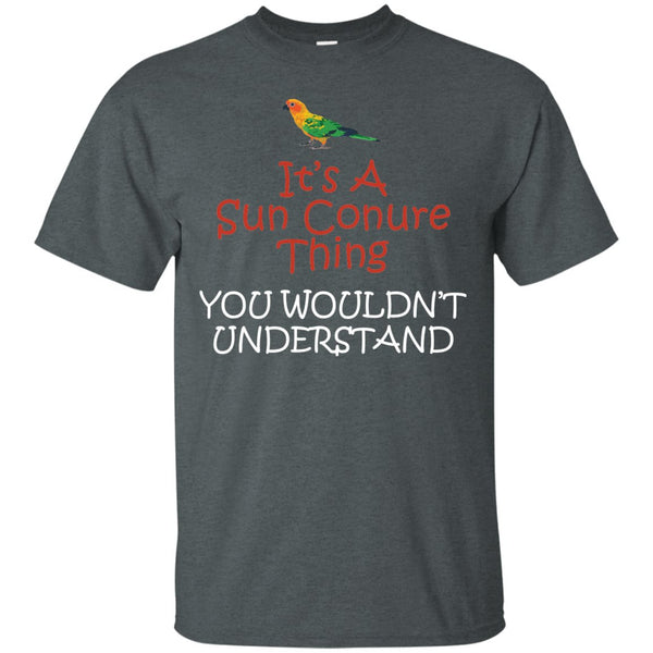 Sun Conures-It's a Sun Conure Thing