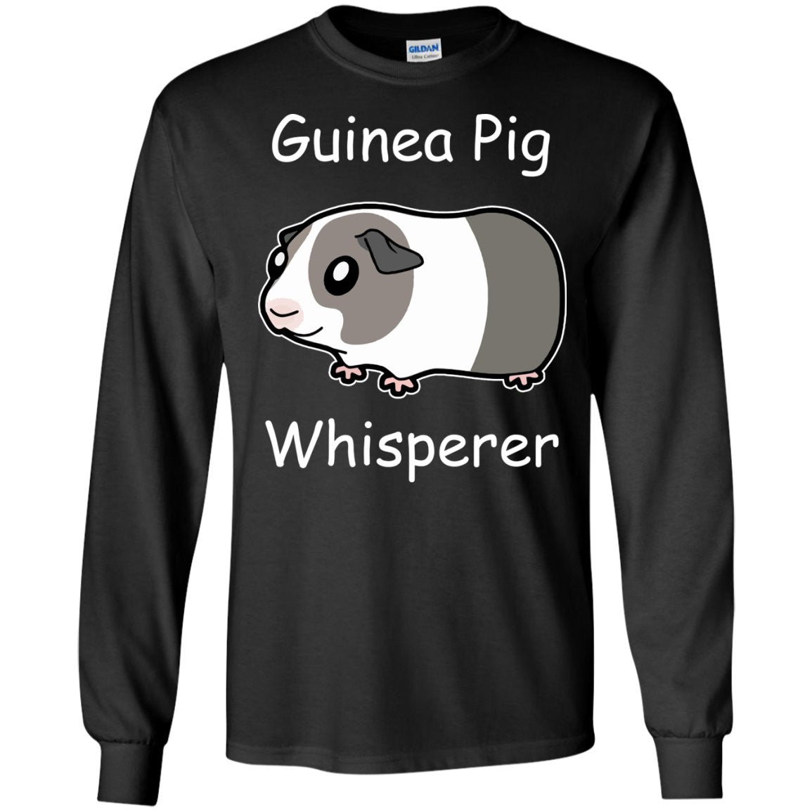 Guinea Pig Whisperer  LS Ultra Cotton Tshirt
