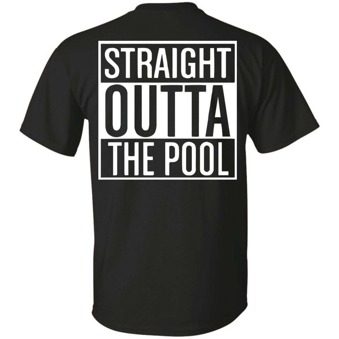 Funny Swimmers Straight Out Of The Pool - Custom Ultra Cotton T-Shirt