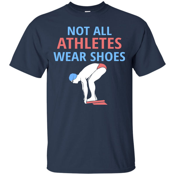 Swim Team Shirts - Not all Athletes Wear Shoes