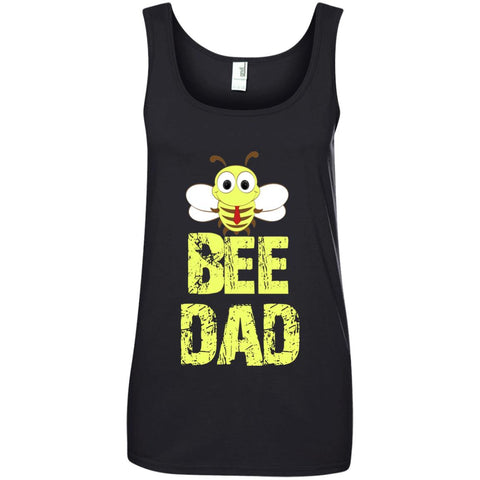 BEE DAD Funny Bee Lover Gift Ladies Tank Top
