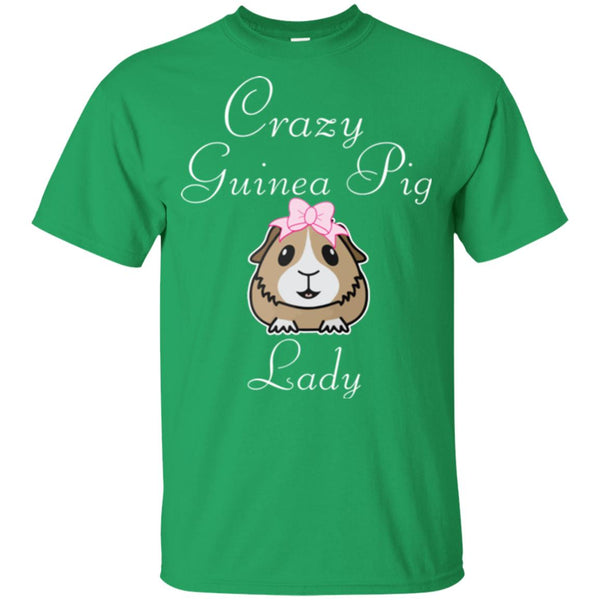 Crazy Guinea Pig Lady G200B Gildan Youth Ultra Cotton T-Shirt