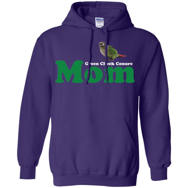Green Cheek Conure Mom - Funny Shirt  Pullover Hoodie 8 oz
