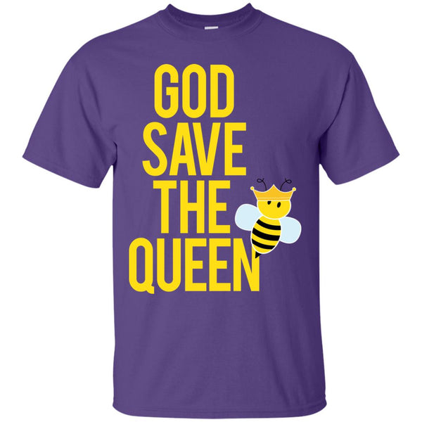 Beekeeper Gift God save the queen T-Shirt