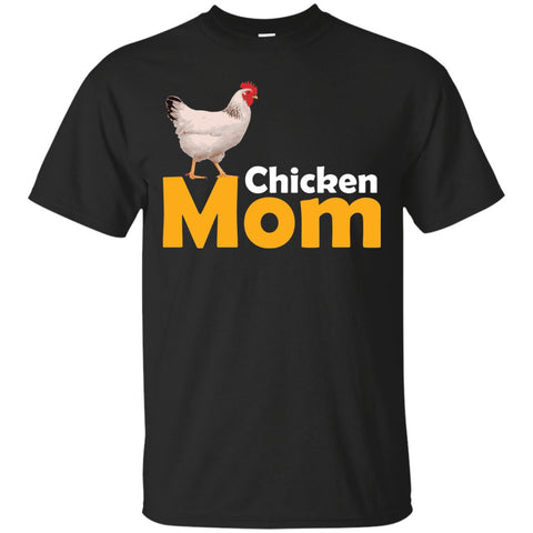 Funny Chicken Themed Chicken Mom Shirt