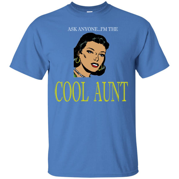 Funny Aunt Shirt The Cool Aunt Agian T-Shirt