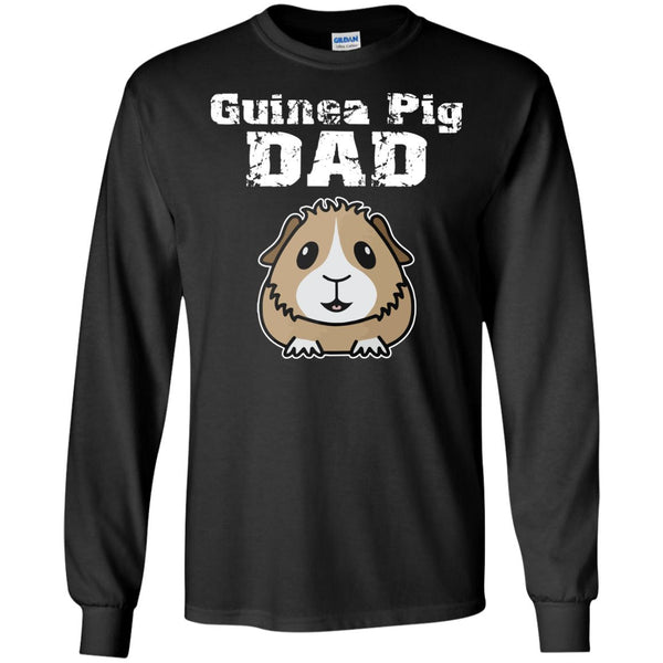 Guinea Pig Dad  LS Ultra Cotton Tshirt