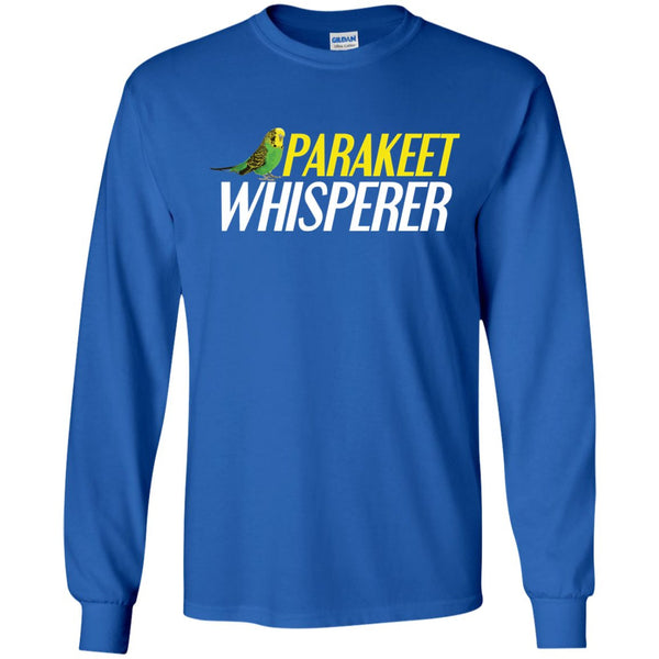 Parakeet whisperer  LS Ultra Cotton Tshirt
