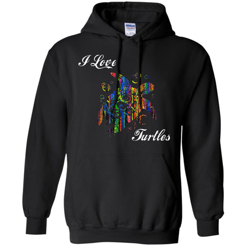 I love Turtles Gift Bright Hoodie