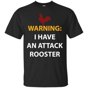 Chicken Gag Gift Funny Attack Rooster Shirt