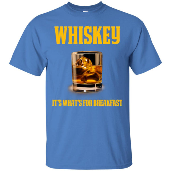 Funny Whiskey Drinker Gift Whiskey Shirt - It's What's For T-Shirt